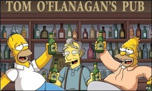 Simpsons in Ireland!